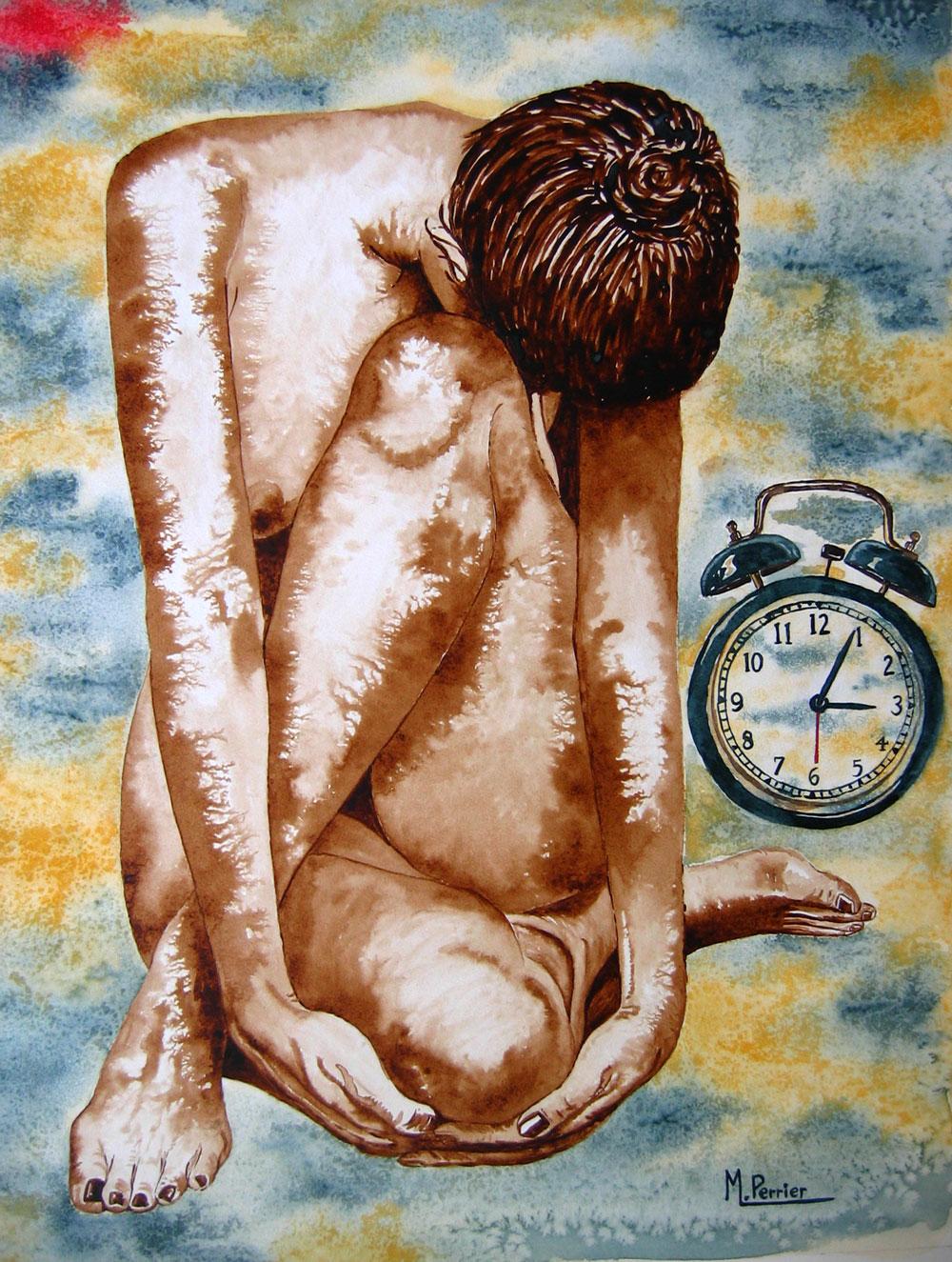 l'ère du temps suspendu ou nu à la pendule 3