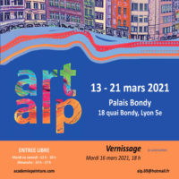 Annulation / Cause COVID / Salon ART ALP, 13-21 Mars, 69005 LYON