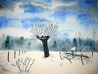 Neige en Dauphiné