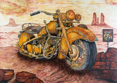Mythique moto Indian