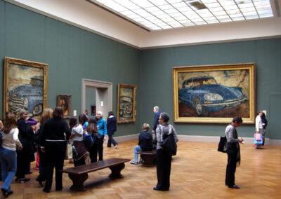 DS, Cadillac et Chevrolet à la National Gallery
