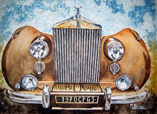 voiture, Rolls Royce